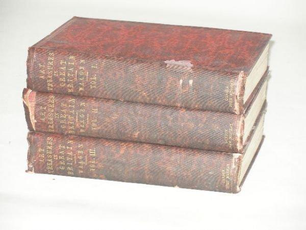 "9: Three Volumes ""Art Treasures in Great Britain,"""