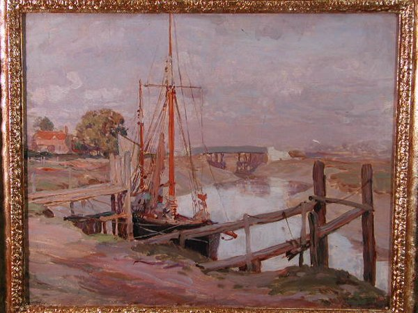 11: Oil on Board, William R. S. Stott, British,