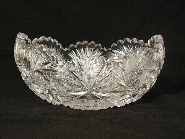 20: Cut Glass Center Dish,