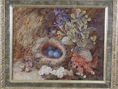 87: Oil on Canvas, Pair of Still Lives, Vincent Clare,