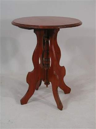 Late Victorian Parlor Table,