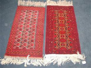 Two Boukhara Area Rugs,