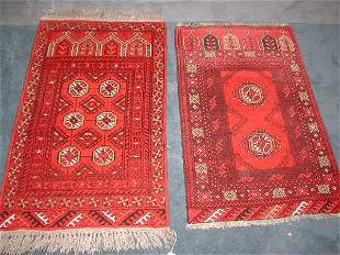 Two Old Boukhara Rugs,