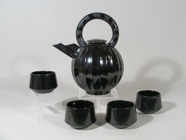1013: Contemporary Pottery Teapot, Steve Fabrico,