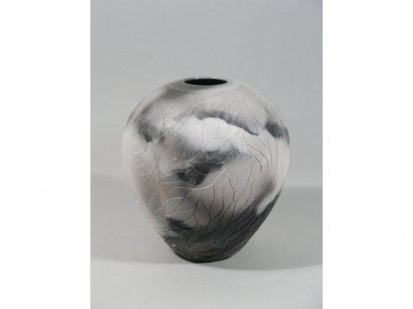 1020: Contemporary Pottery Vase, Nancee Meeker,