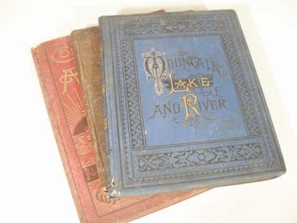 1024: Group of Three Scarce Books,