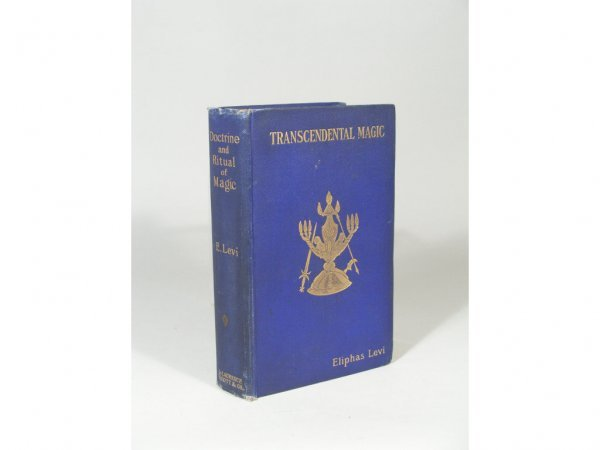 1042: Rare Book, Transcendental Magic by Eliphas Levi,