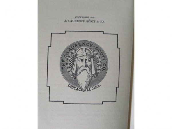 1042: Rare Book, Transcendental Magic by Eliphas Levi, - 3
