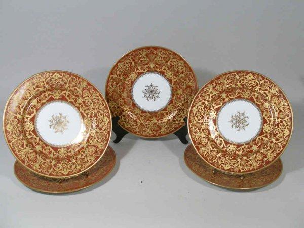 1106: Set of Twelve Bernardaud Limoges Plates,