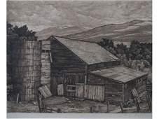 1424: Luigi Lucioni (VT, 1900-1988), Vermont Survival,