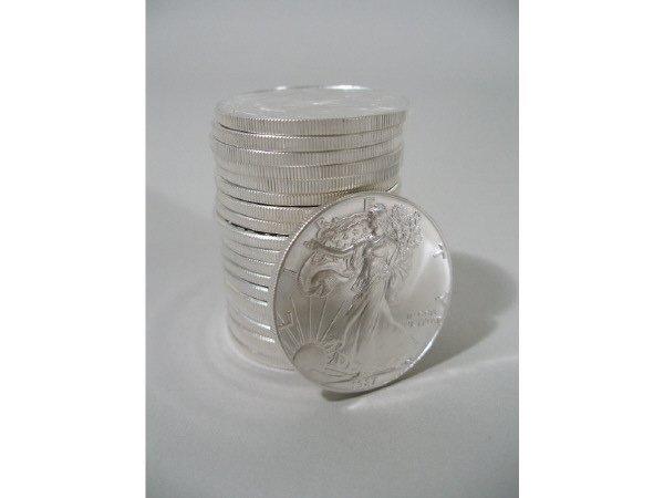 2007: Roll of 20 BU 1987 Silver Eagles