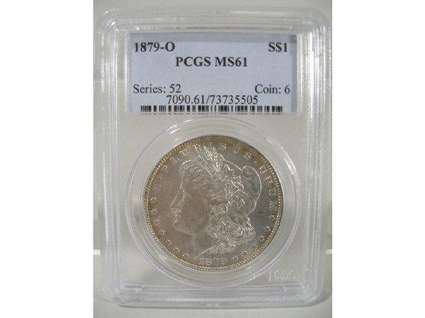 2021: 1879-O Morgan Silver Dollar, PCGS MS 61.