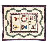 Vintage Americana Applique Quilt