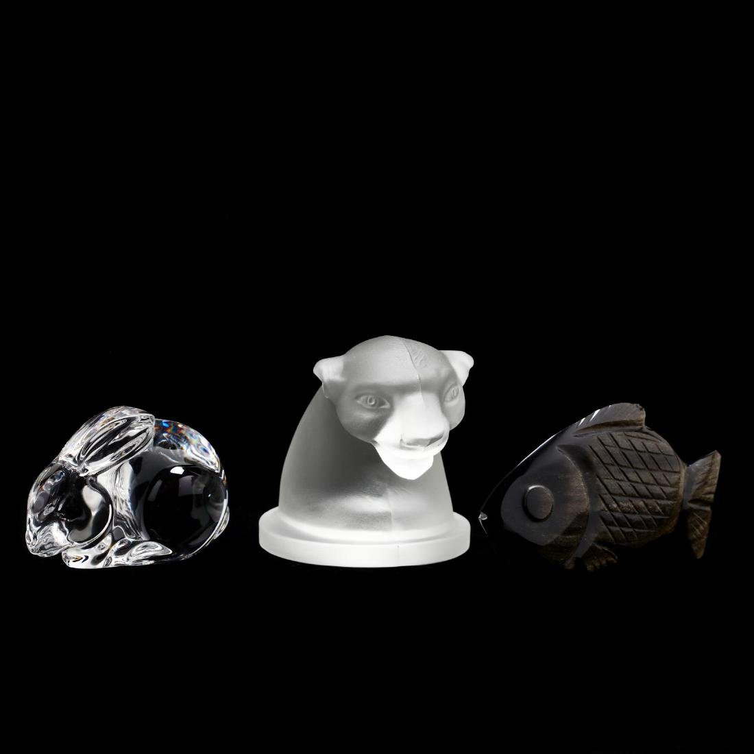 Group of Glass and Specimen Animal Figures - 2