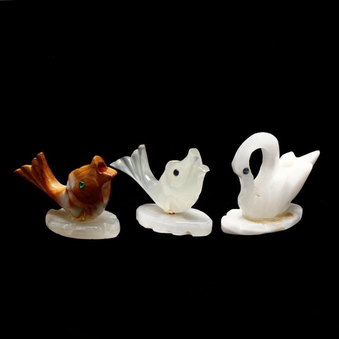 Group of Glass and Specimen Animal Figures - 7