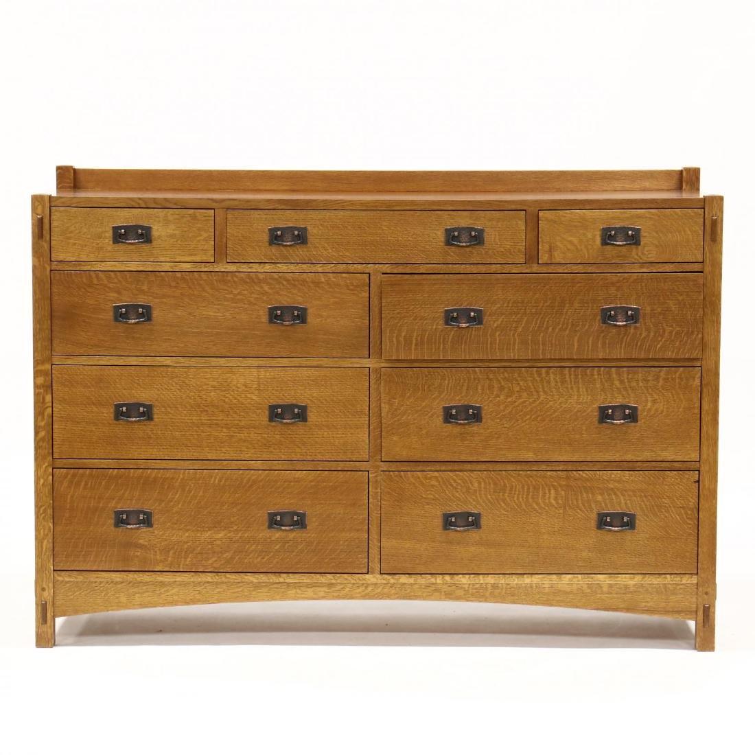 Stickley, Mission Style Oak Dresser