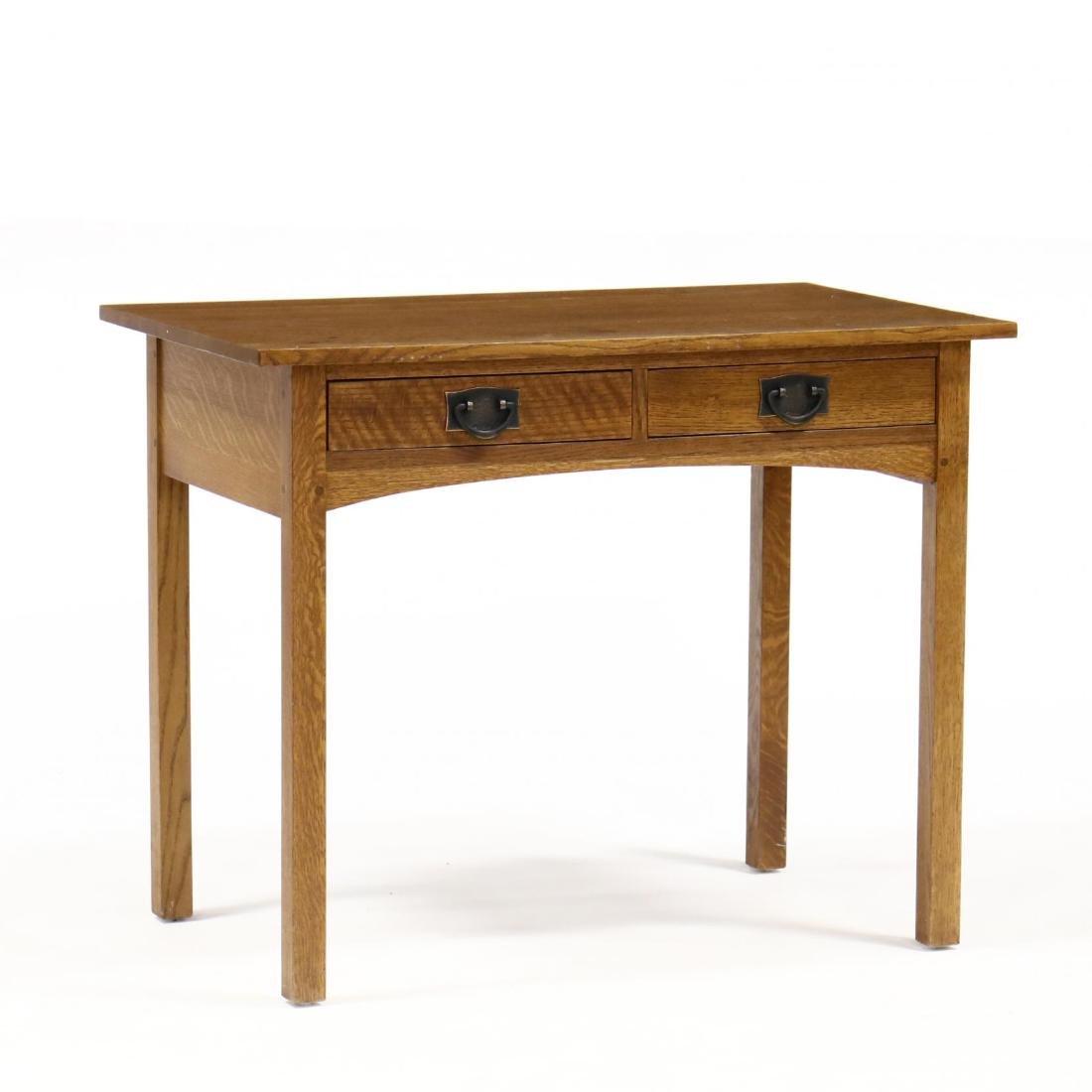 Stickley, Mission Style Oak Writing Desk