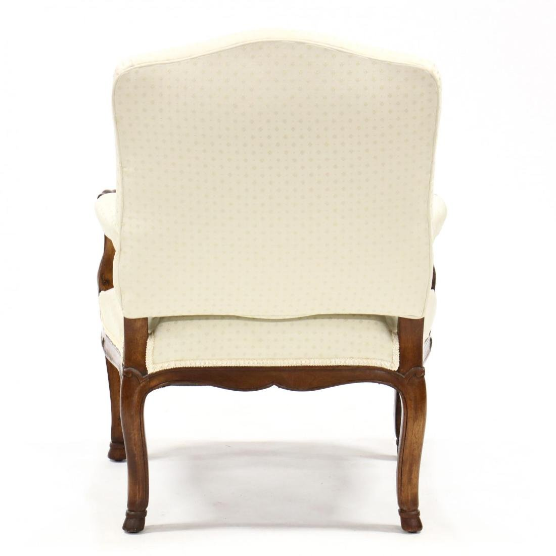 Louis XV Style Upholstered Armchair - 3