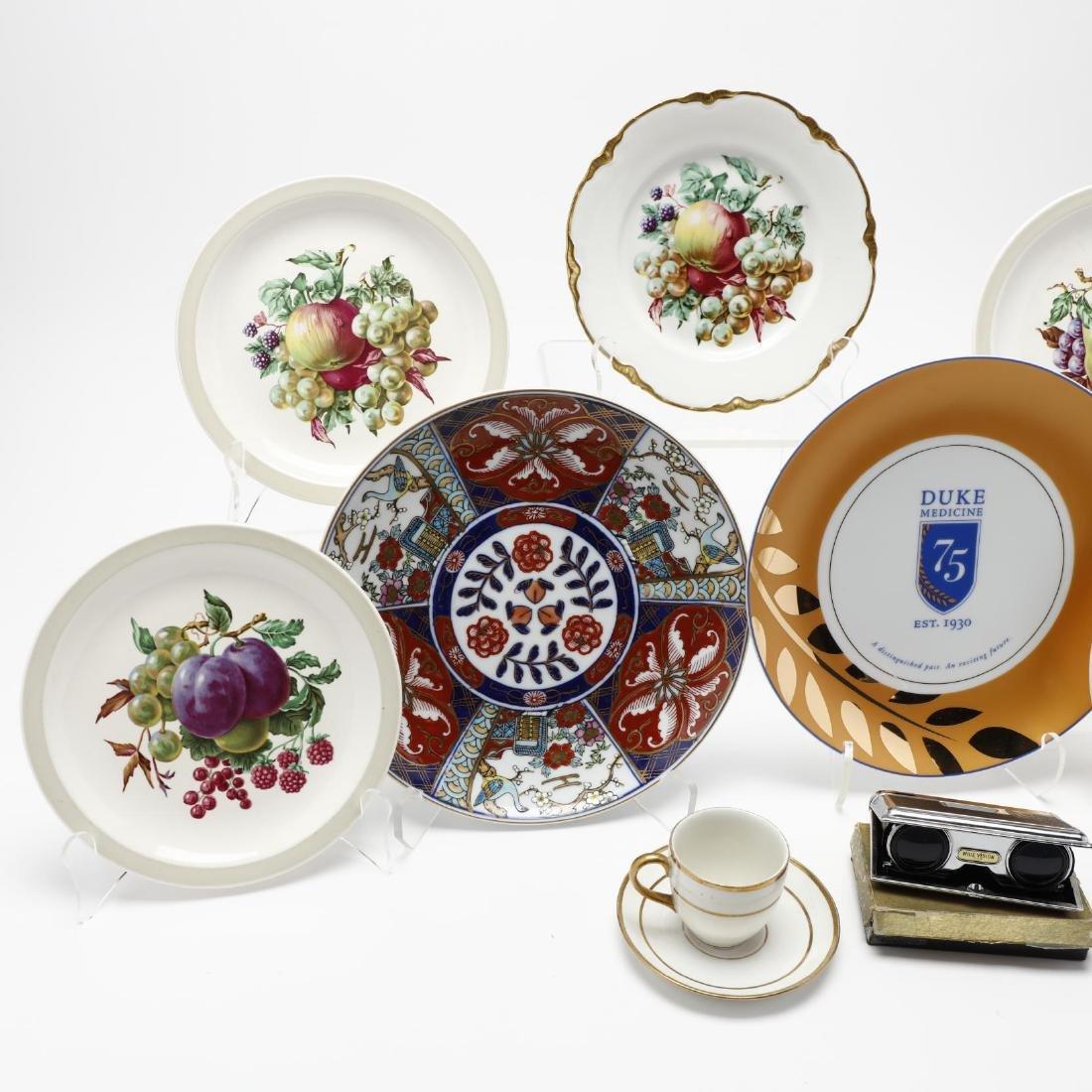 Assorted Vintage Porcelain and Opera Glasses - 2