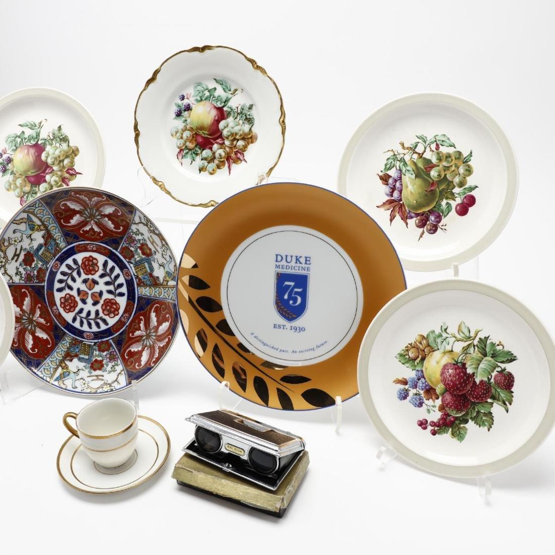 Assorted Vintage Porcelain and Opera Glasses - 3