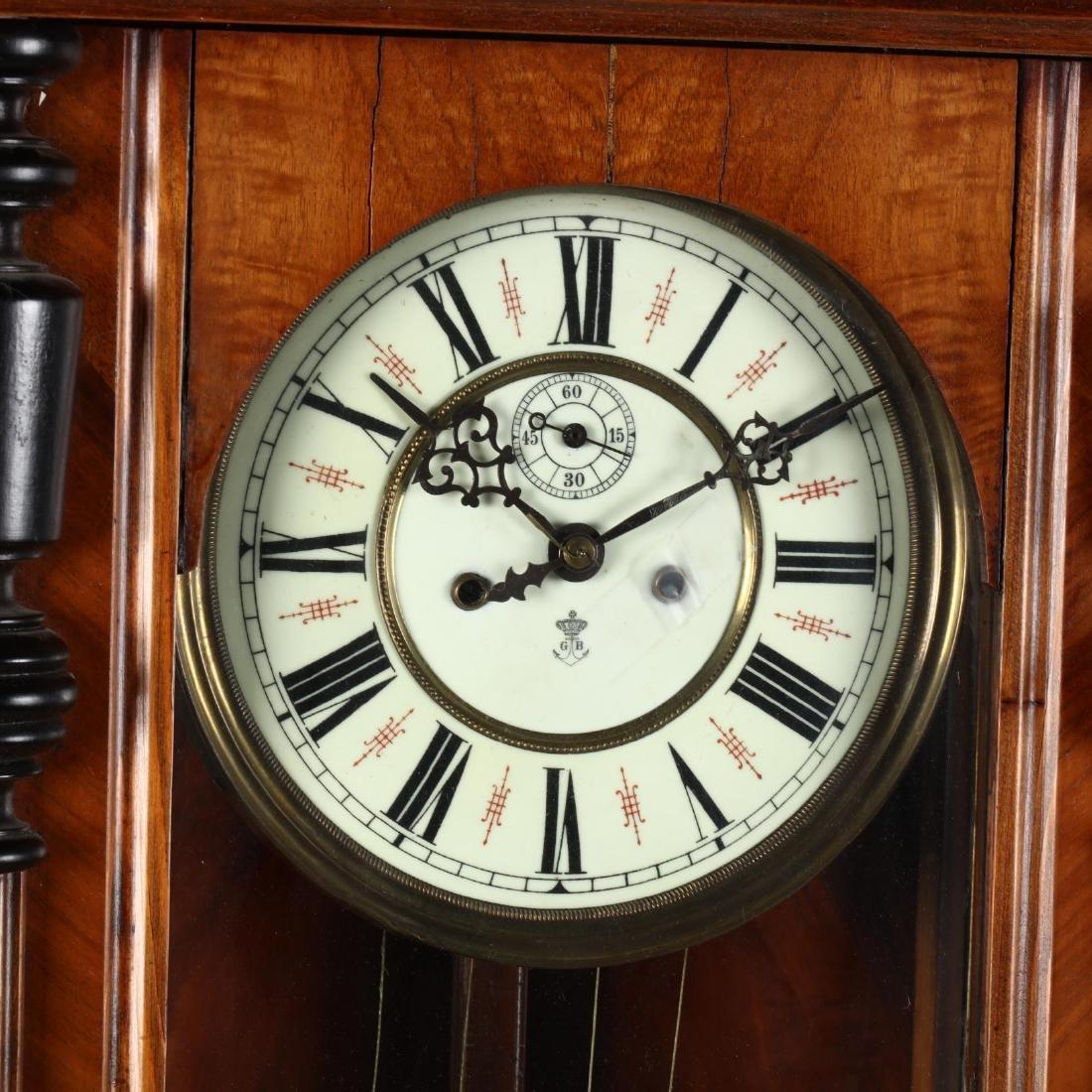 Gustav Becker, Regulator Wall Clock - 2