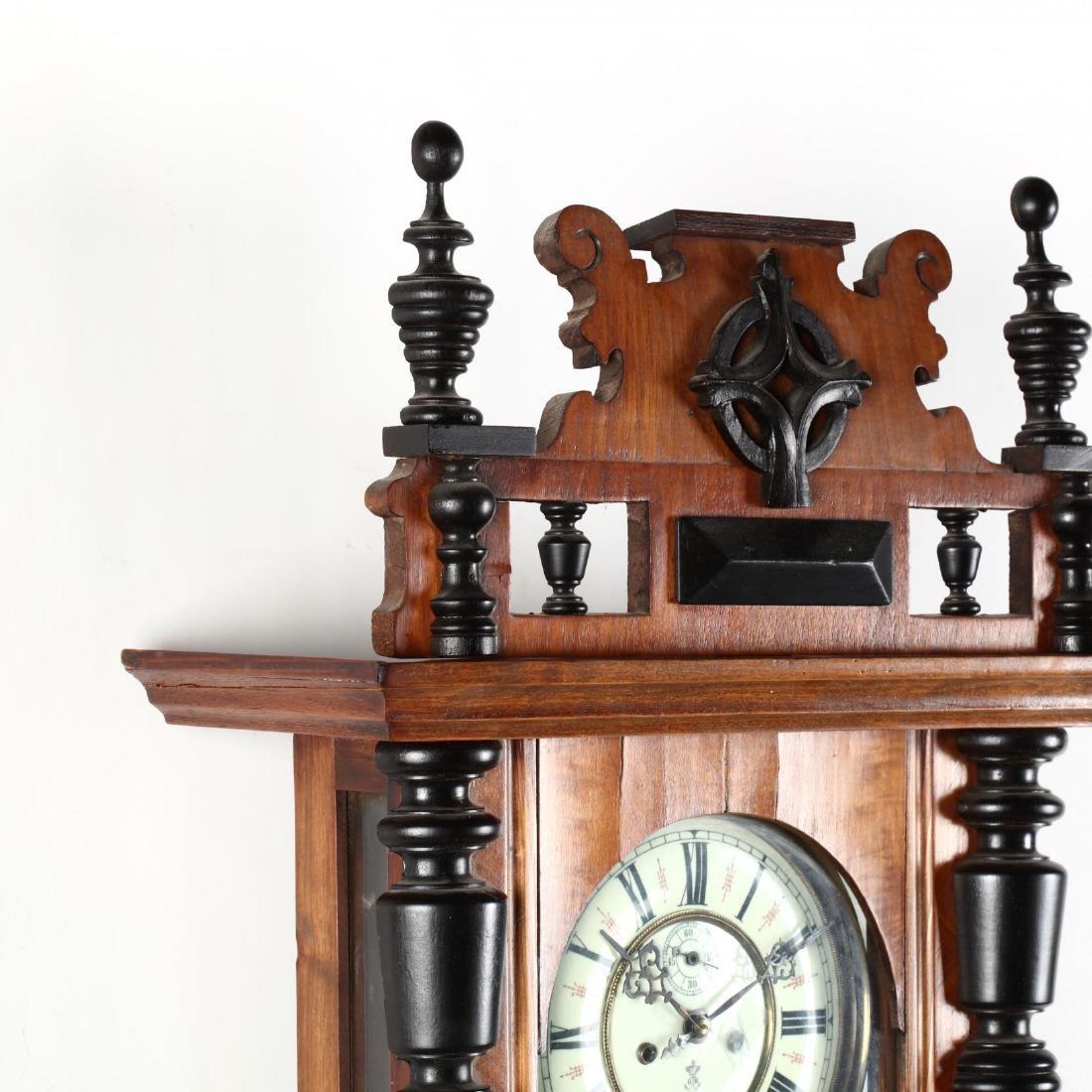 Gustav Becker, Regulator Wall Clock - 3