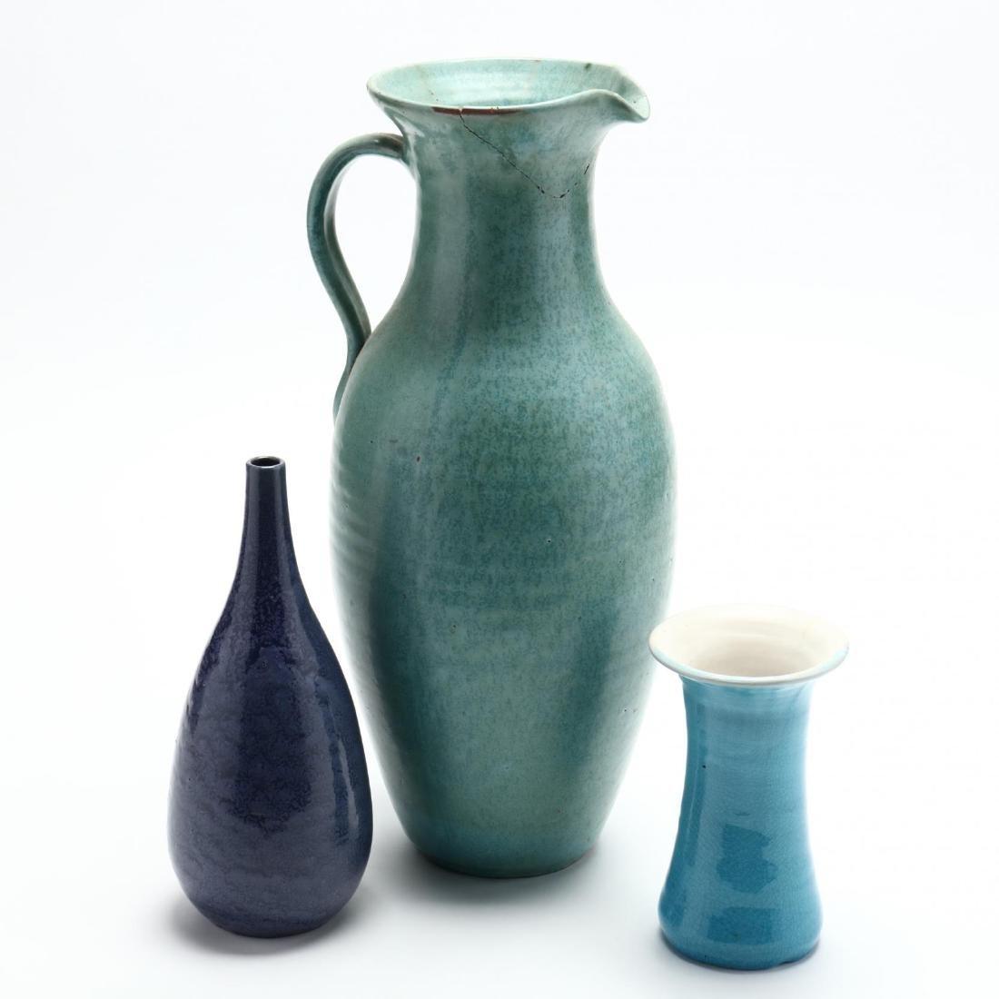 Three NC Pottery Items - 2