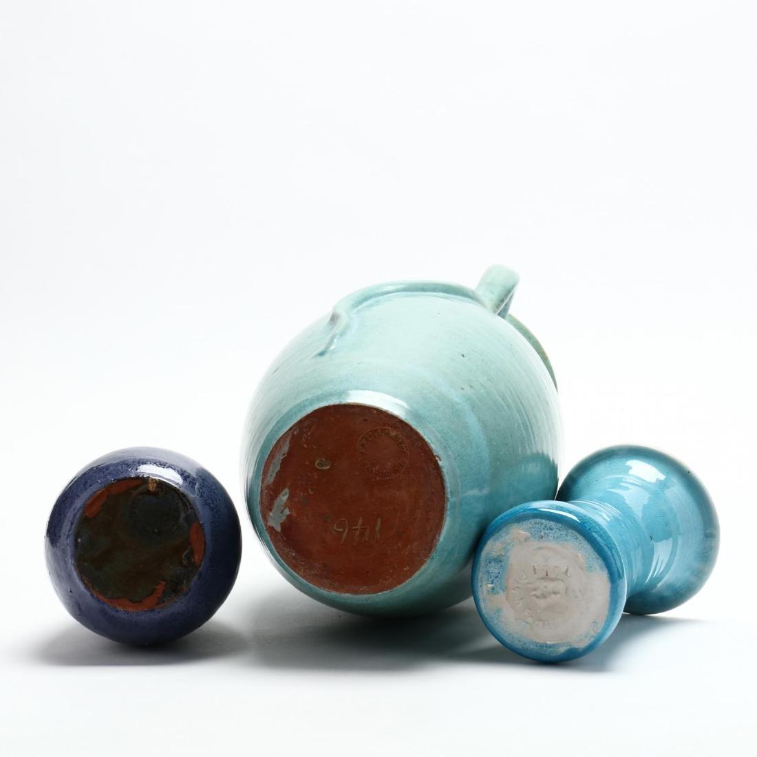 Three NC Pottery Items - 4