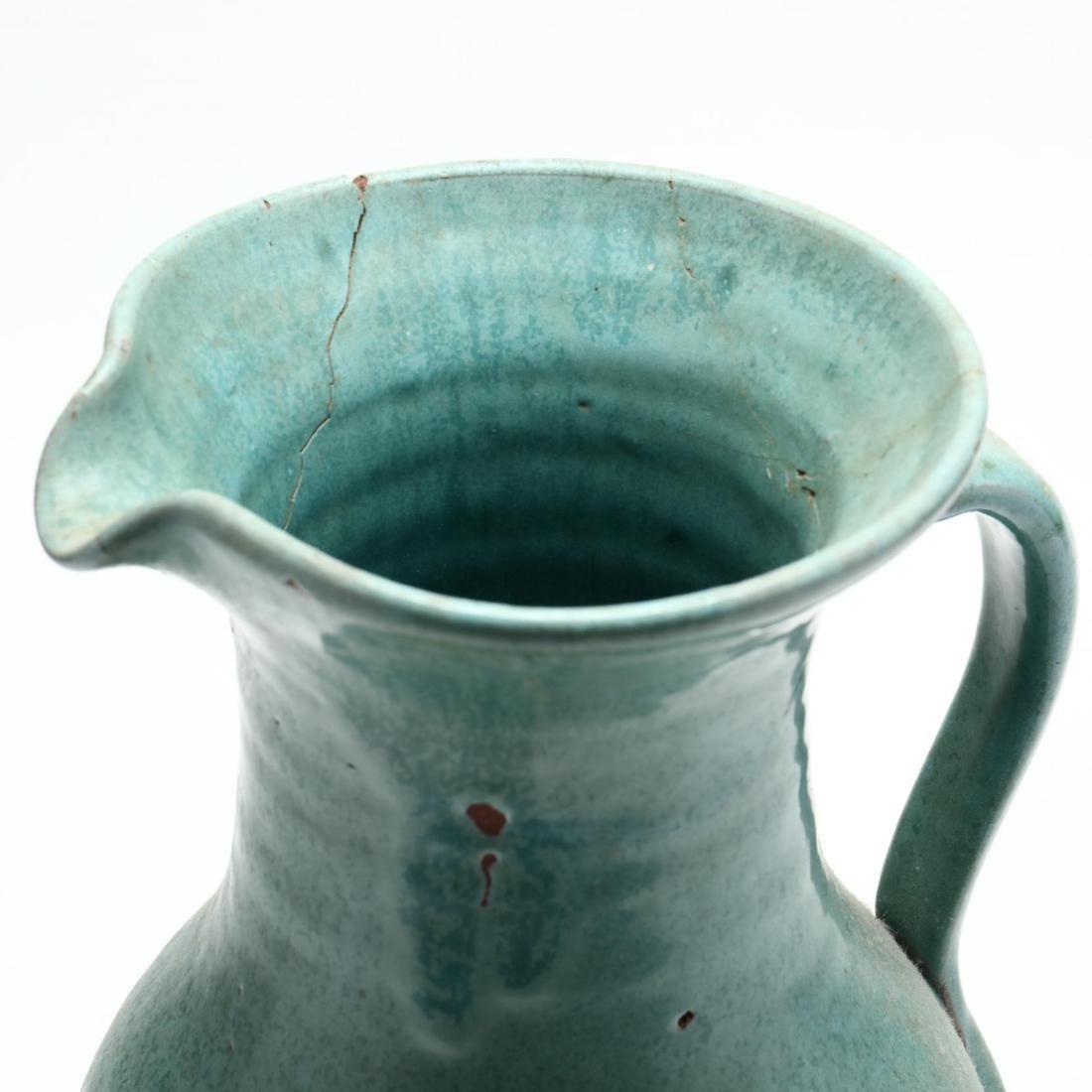 Three NC Pottery Items - 5