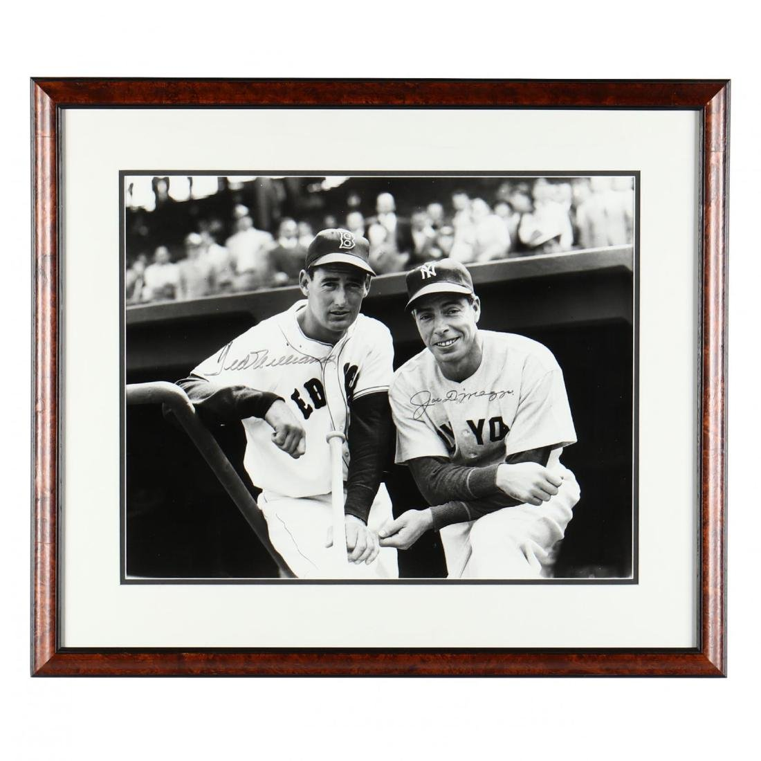 Joe DiMaggio and Ted Williams Signed Photograph