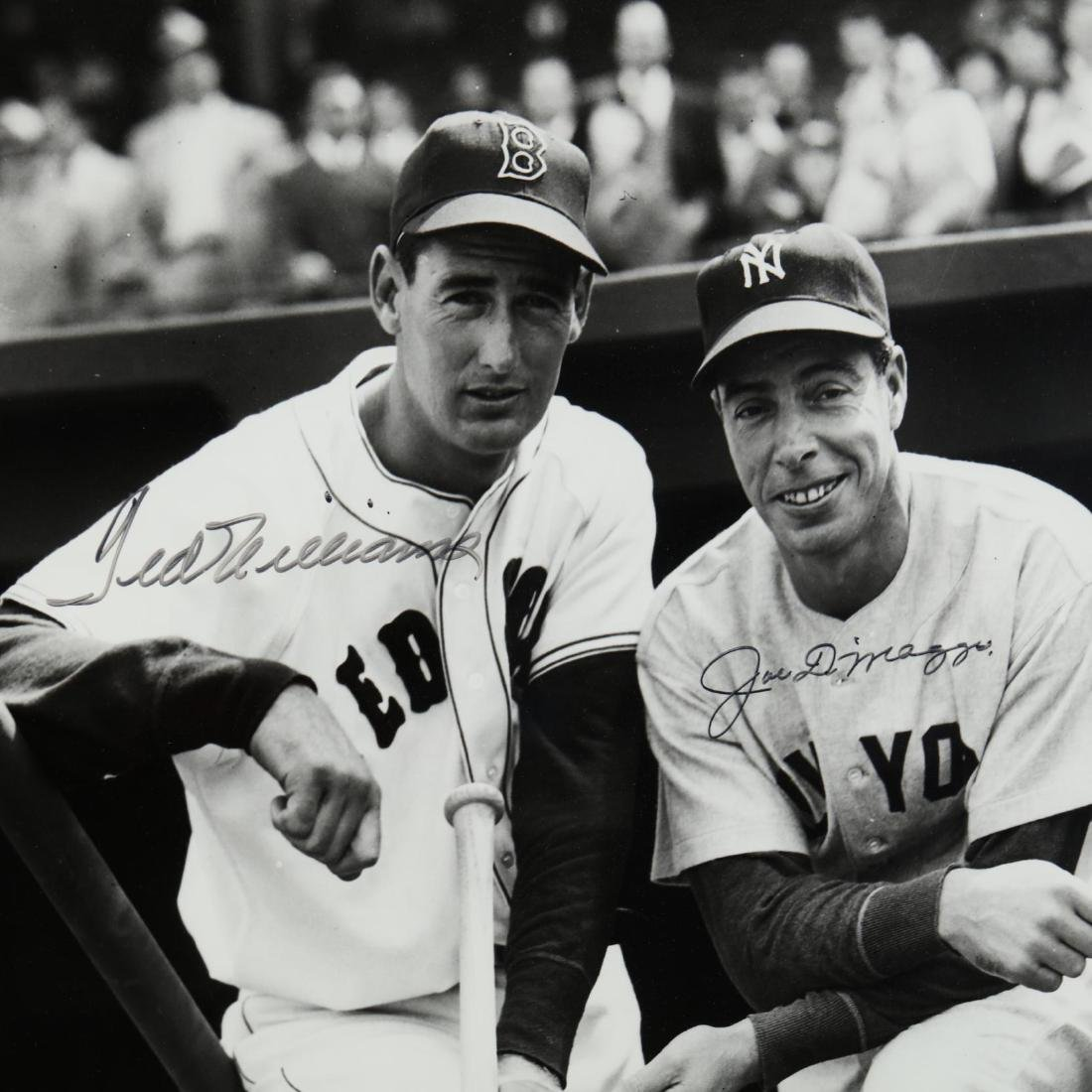 Joe DiMaggio and Ted Williams Signed Photograph - 2
