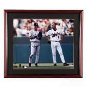 Derek Jeter and Cal Ripken Jr. Autographed Photograph