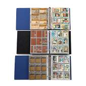 Three Baseball Card Albums 1950s 1972 and 1973 Topps