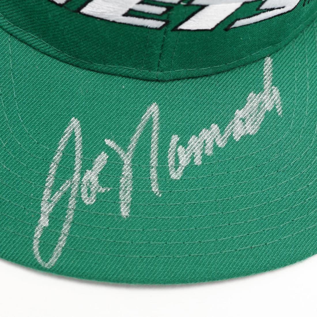 Joe Namath Autographed New York Jets Cap with COA - 2