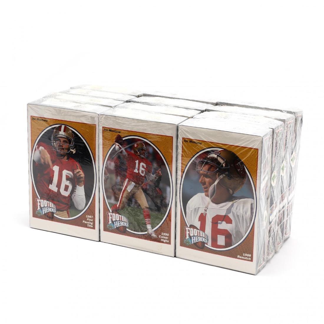 Twelve Upper Deck 1991 NFL Collector's Choice Sealed - 2