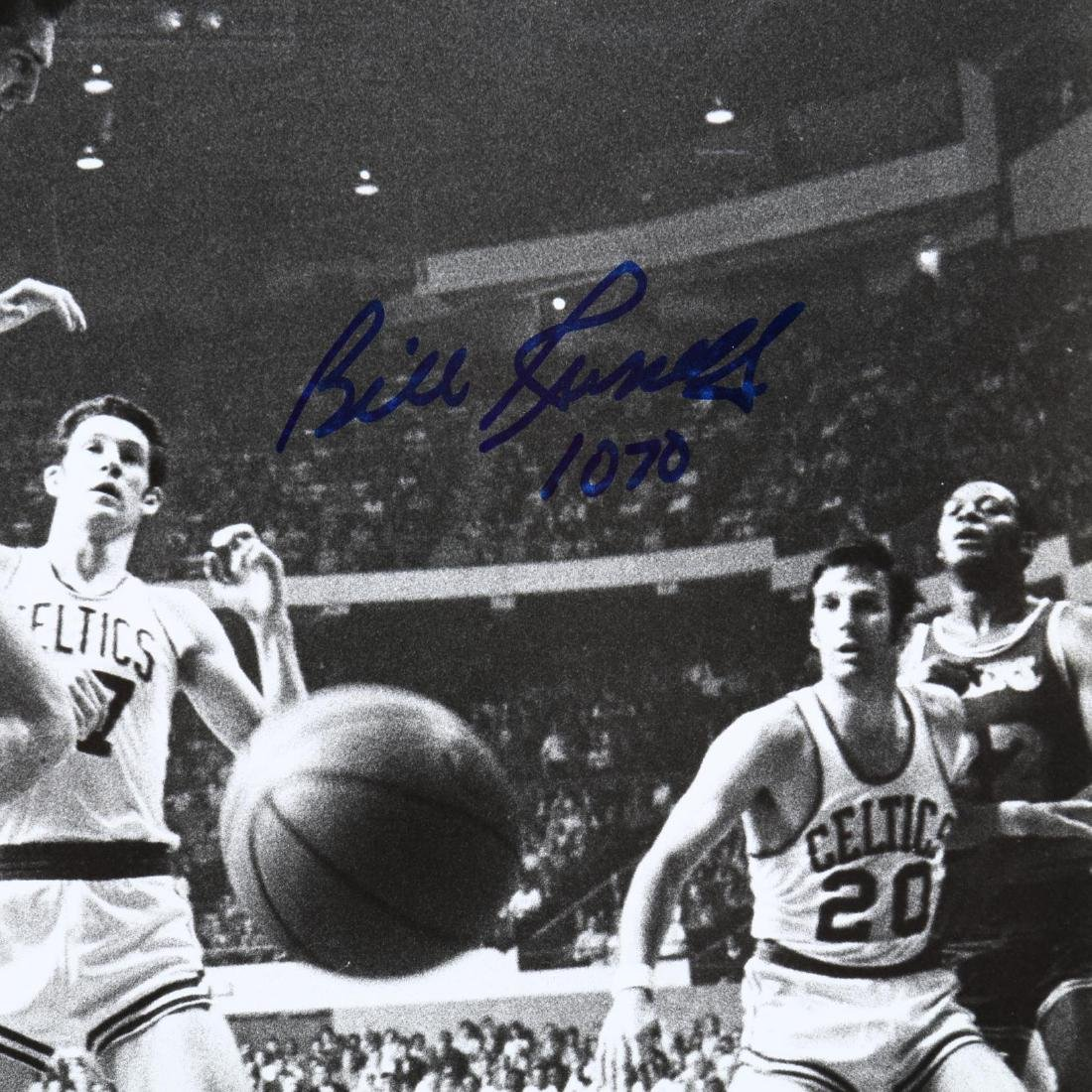 Bill Russell and Wilt Chamberlin Signed Photograph - 3