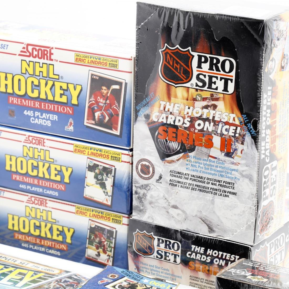 Fifteen Factory Sealed 1990/91 NHL Hockey Card Boxes - 2