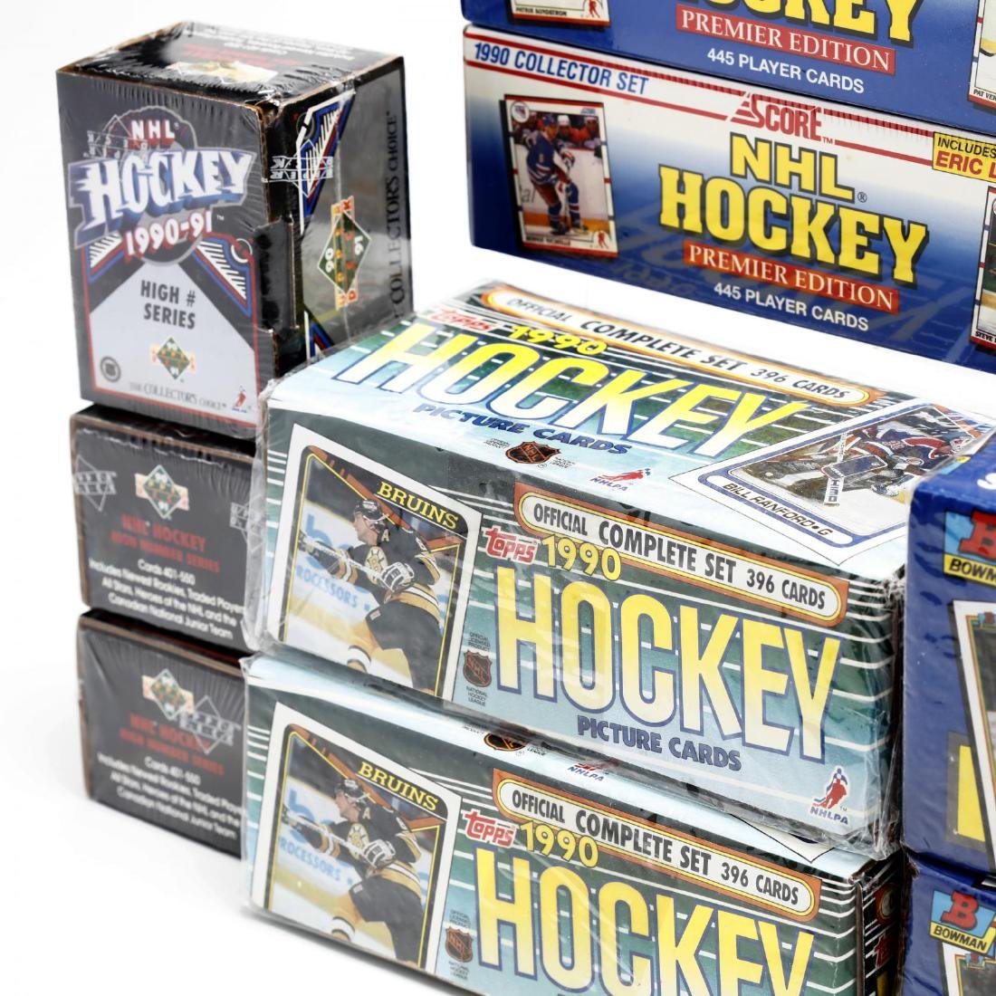 Fifteen Factory Sealed 1990/91 NHL Hockey Card Boxes - 4