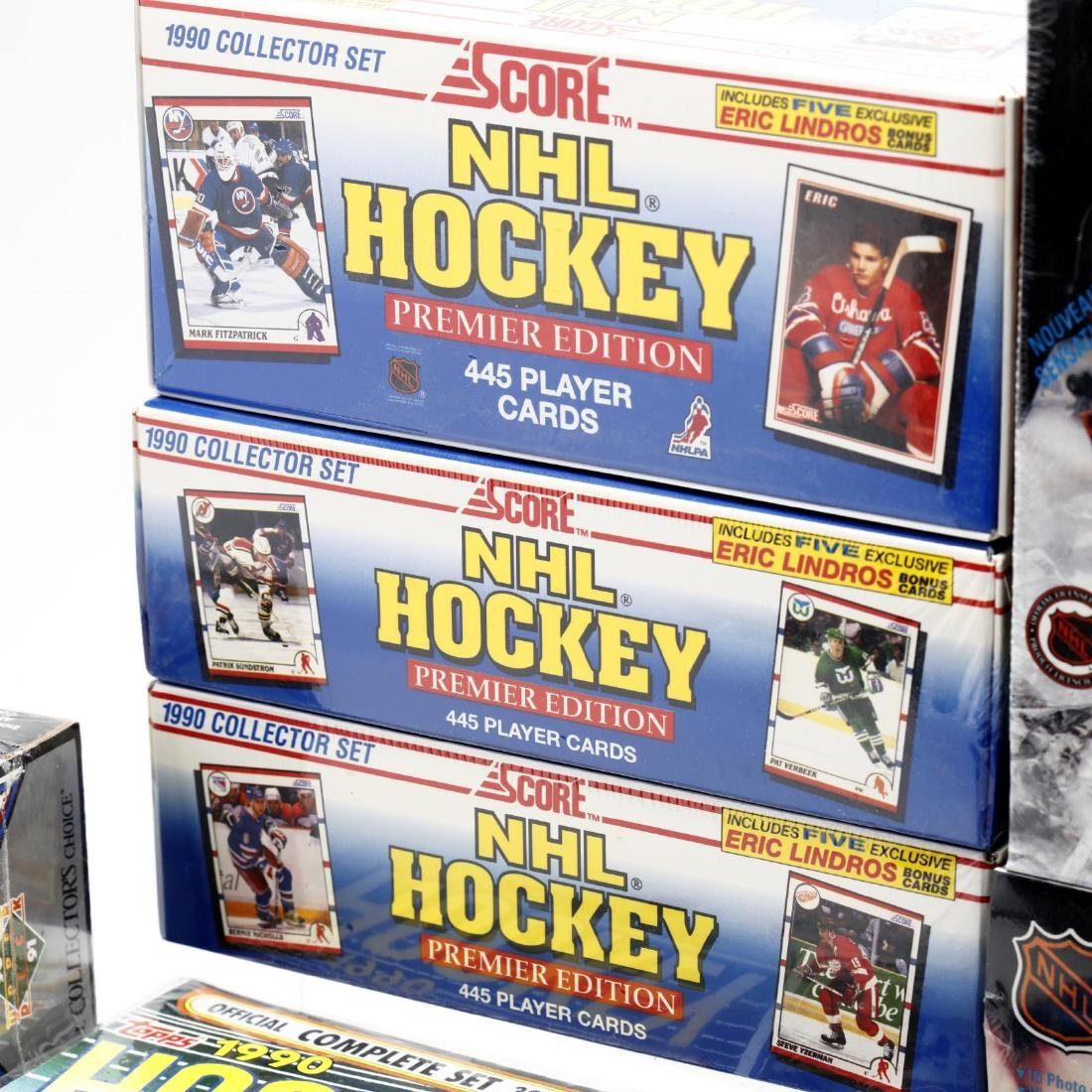 Fifteen Factory Sealed 1990/91 NHL Hockey Card Boxes - 5