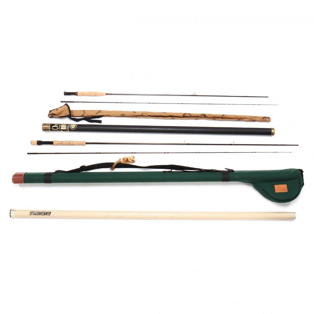 Orivs Graphite Fly Rod and Sage Graphite Fly Rod