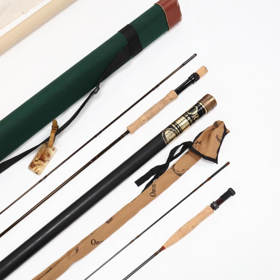 Orivs Graphite Fly Rod and Sage Graphite Fly Rod - 3