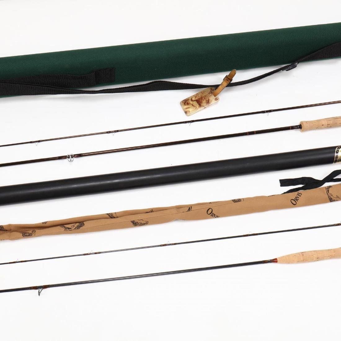 Orivs Graphite Fly Rod and Sage Graphite Fly Rod - 4