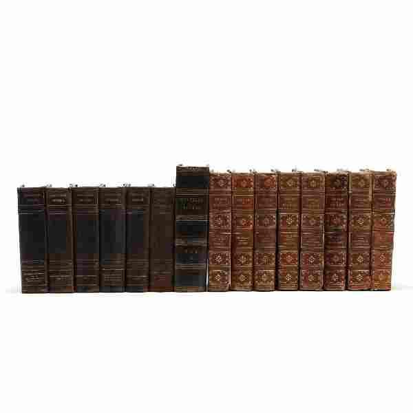 15 Volumes from Three Editions of Literature
