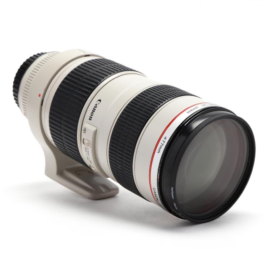 Canon 70-200mm Camera Lens - 4