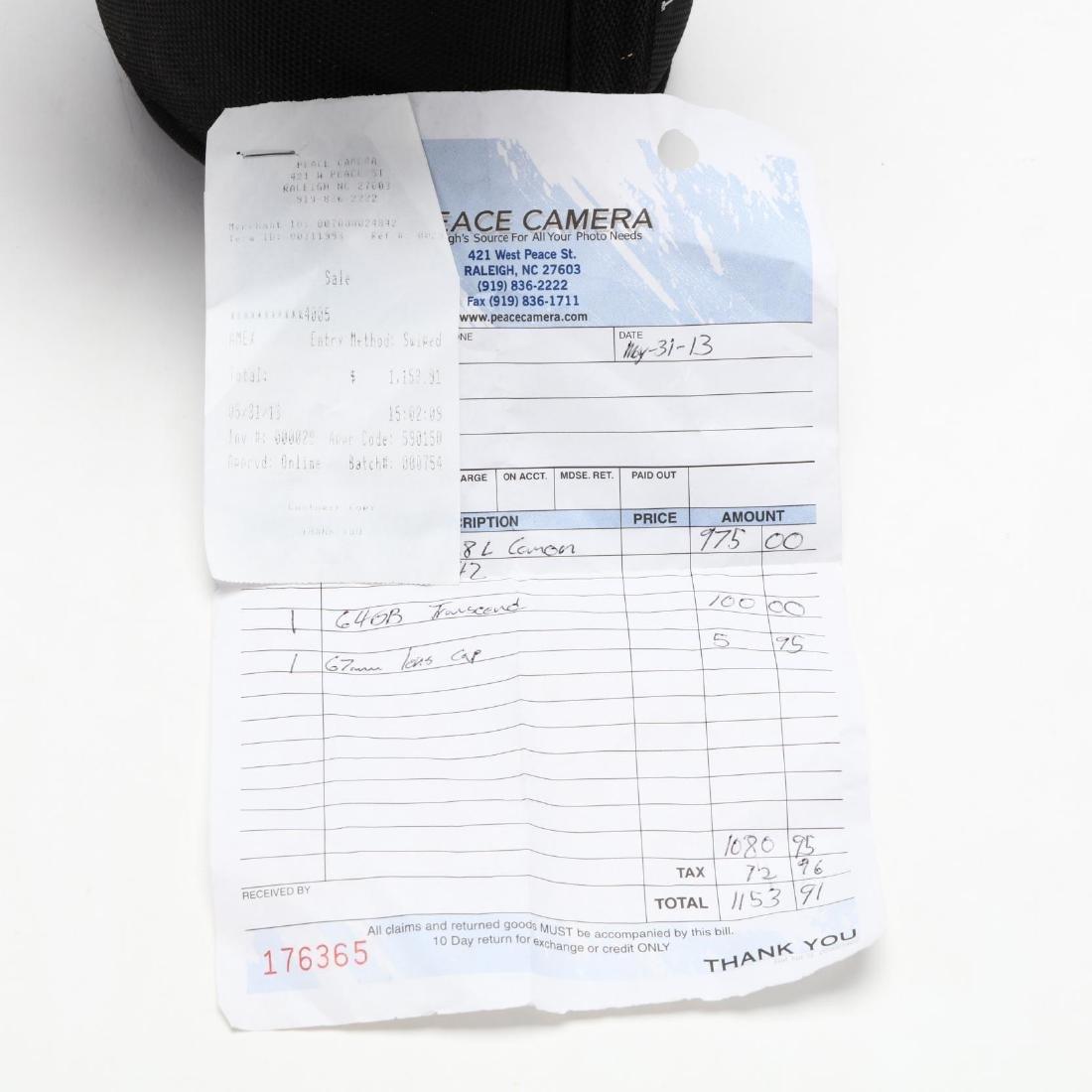 Canon 70-200mm Camera Lens - 6