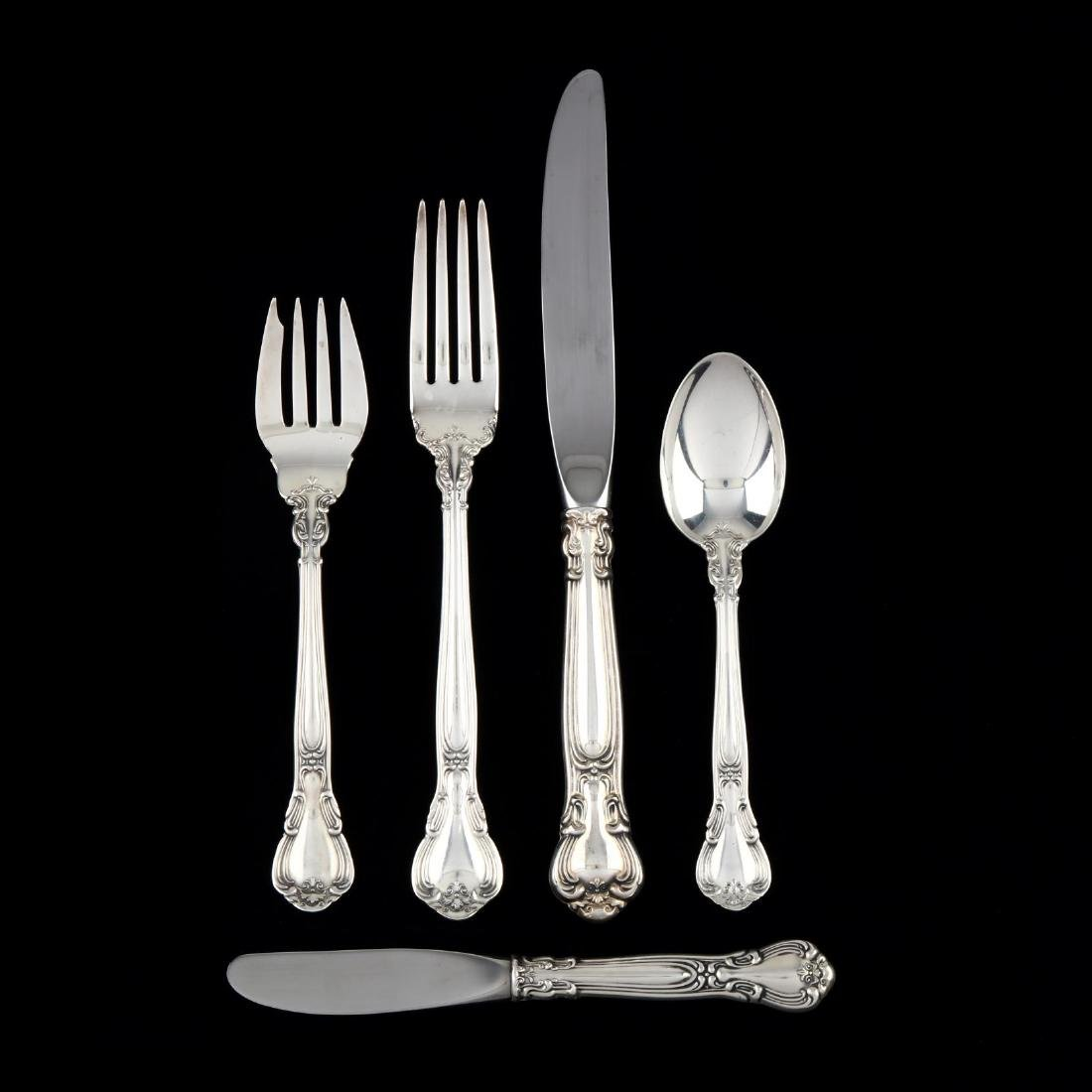 "Gorham ""Chantilly"" Sterling Silver Flatware"