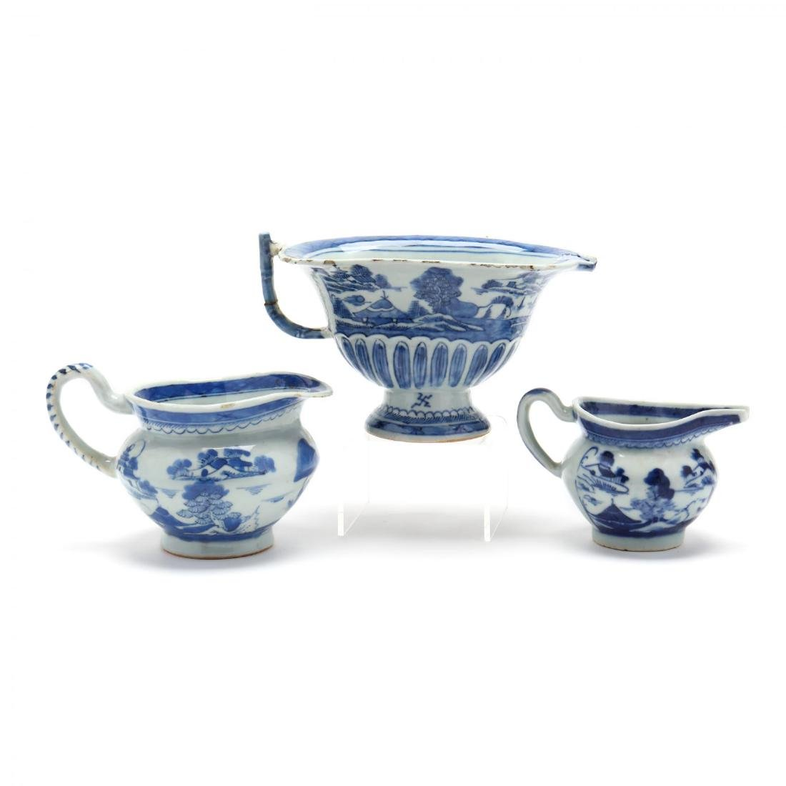A Group of Canton Export Porcelain - 2