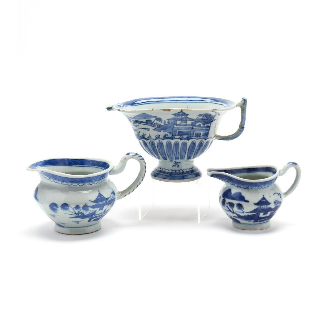 A Group of Canton Export Porcelain - 3