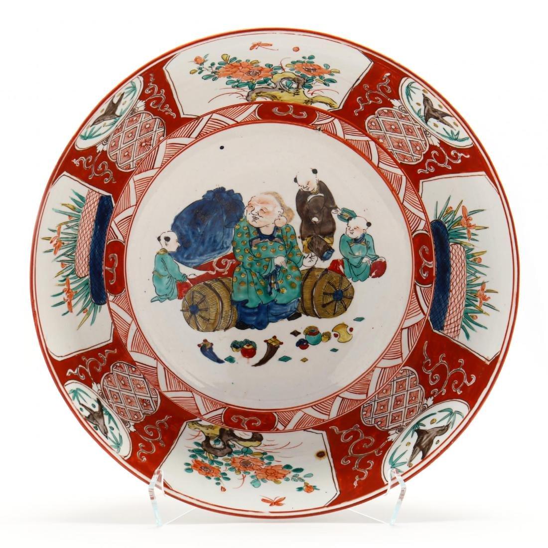 19th Century Japanese Arita Imari Bowl - 2