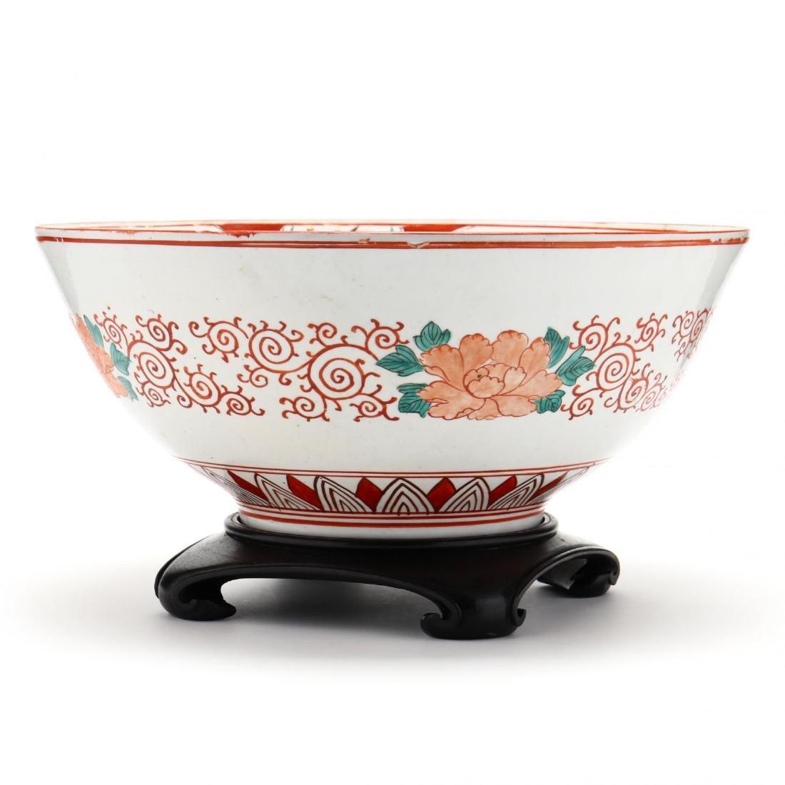 19th Century Japanese Arita Imari Bowl - 3